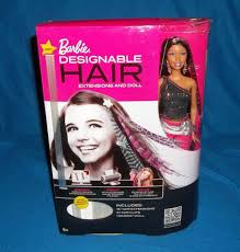 Barbie Com Designable Hair Barbie Designable Hair With Extensions And Barbie Doll Aa
