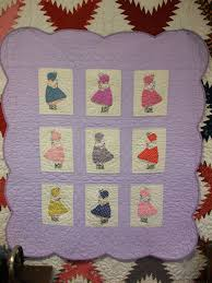 41 best Vintage baby quilts images on Pinterest | Appliques, Baby ... & Vintage Quilt Patterns | Antique Looking Little Lindsay Baby Quilt Pattern Adamdwight.com