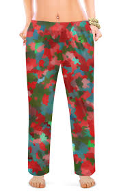 Женские пижамные штаны <b>Красненькие</b> кристаллики #2745971 ...