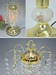 chandelier table lamps chandelier table lamp touch sensor antique lamp clear desk lamp gold glass crystal