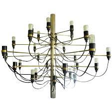 gino sarfatti flos 2097 model 2065 chandelier gino sarfatti large chandelier