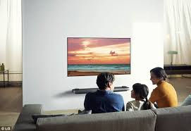 lg tv thin. the ultrathin lg signature oled w television is just 2.57mm thin in 65 lg tv