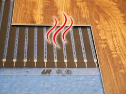 perfectly warm radiant heat for under floating tile and wood floors