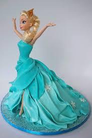 Cake Blog Elsa Doll Cake Tutorial Tutorials Pinterest.
