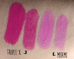 medusa s makeup lipstick swatches triple x miami