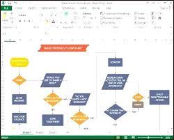 Process Flow Diagram Excel 2010 Wiring Diagrams