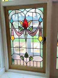 victorian stained glass very beautiful antique window for front door panels