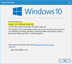 Users Still Running Windows 10 Version 1511 Have Until