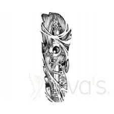 Tetovací Rukáv Falešné Tetování Na Paži Stehno Lýtko Design Stroj Robot Roboruka