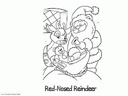 Small Picture Christmas Coloring Pages Rudolph Coloring Pages