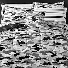 modern camo black gray white camouflage