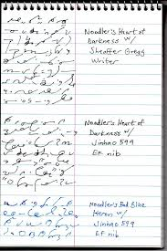 Steno Chart Fountain Pen Friendly Steno Pads Posted In Paper Pen