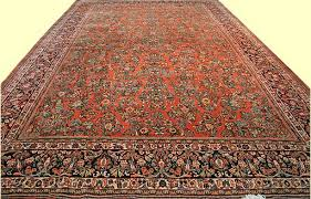 closeout rugs 10 x 14 oversize gallery antique sarouk rug hand
