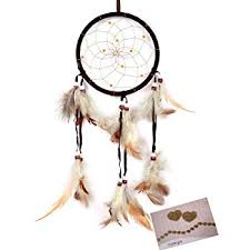 Who Sells Dream Catchers Magnificent Amazon BSLINO Dream Catchers Brown Handmade Feather Native