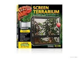 Exo Terra Screen Terrarium aus Aluminium Gaze / Terraristik Shop