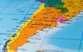 Wallpaper Argentina, map, Chile, Uruguay images for desktop, section макро  - download