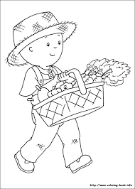 Small Picture Caillou Coloring Pages Coloring Coloring Pages