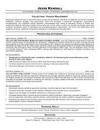 supervisors resume supervisor resume sample
