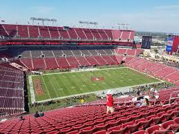 Raymond James Stadium Section 331 Tampa Bay Buccaneers