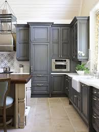gray painted kitchen cabinets view full size