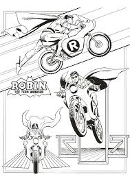 Small Picture Batman And Robin Coloring Pages Marvellous Batman And Robin