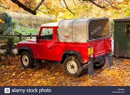 Land Rover Defender Red Warning Light Red Landrover Stock Photos Red Landrover Stock Images Alamy