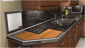 black tile kitchen countertops. Ceramic Tile Kitchen Countertop Ideas Granite Tiles Image Of 2017 Images Black Outdoor Stone Countertops N
