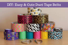 Duct Tape Patterns Beauteous Boston Mamas Blog DIY Easy Cute Duct Tape Belts
