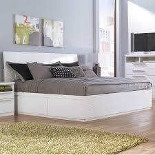 Awesome Queen Platform Bed Frame With Storage Trends And Trundle ...
