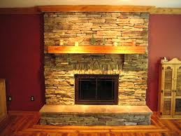 reface brick fireplace ideas with stacked stone resurface wood reface brick fireplace