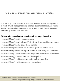 top  bank branch manager resume samplestop  bank branch manager resume samples in this file  you can ref resume materials