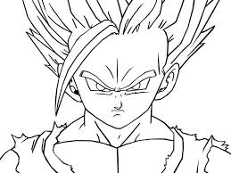 coloring pages dragon ball z coloring pages printable copy super free colouring kai