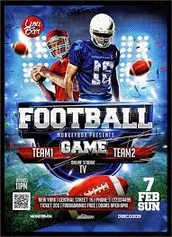 football flyer templates spectacular football flyer template 14 download documents in