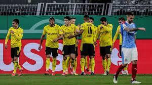We win together and we lose together. Orkan Bvb Fegt Uber Kiel Weg Dortmund Zerlegt Holstein Und Folgt Leipzig Ins Pokalfinale Sportbuzzer De