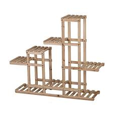 Wooden Ladder Display Stand Delectable Amazon BJLWT Solid Wood Ladder Display Stand LargeCapacity 32