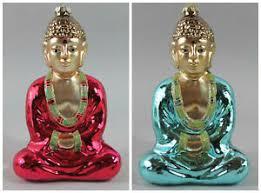 Details Zu Buddha Pink Blau Türkis Anhänger Weihnachten Weihnachtskugel Christbaum Schmuck