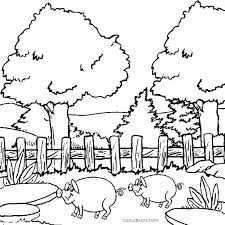 Coloring Pages Nature Coloring Pages To Print Printable Coloring