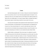 personal legend essay married and wanted to have kids she got a  2 pages prejudice paper