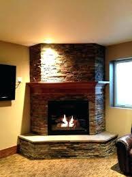 corner stone electric fireplace corner fireplace stone corner rock fireplace ideas corner stone fireplace photo 1