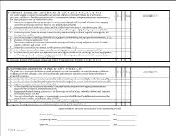Teacher Evaluation Form Student Teacher Evaluation Form College Of Education University 12