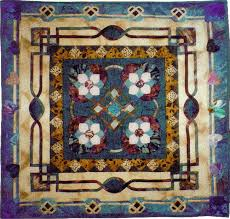 QED Quilts: Kathy's Round Robin Quilt: Celtic & Teal & Kathy's Round Robin Quilt Adamdwight.com