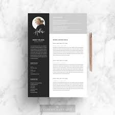 One Page Resume Template Indesign Cover Letter For Resume Best
