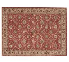 madeline persian rug red multi pottery barn red persian rug decor