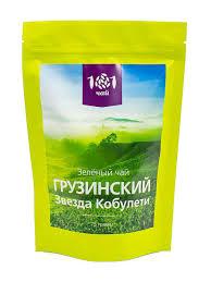 15% 101 ЧАЙ <b>Чай зеленый Грузинский Звезда</b> Кобулети, 75 г