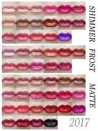 Final 50 Lipsense Colors Chart By Finish Lipsense Shimmer