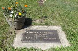 Kenneth Allen Maynard Spreeman (1921-2000) - Find A Grave Memorial