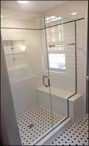tile shower seat showers with bench org surprising regard to cute stalls stall dimensions for your tile shower bench