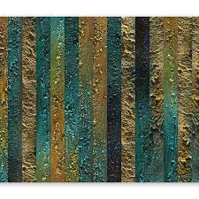 Tapeten Wohnzimmer Wand Textur Gold Abstrakt Wie Gemalt 3d