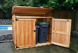 cedar garden shed. Oscar Waste Management Shed   6×3 Cedar Garden