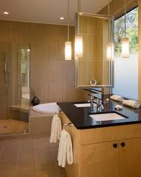 awesome modern pendant lights for bathroom vanity wooden component hanging washbasin lighting lamp cream